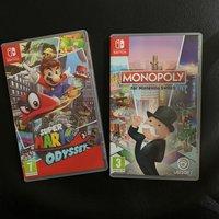 Mario Odyssey 歐版(有中文)+Monopoly歐版
