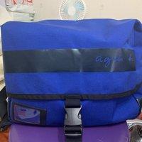 agnes b sport blue bag