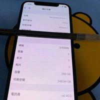 iPhone X 黑色 256G