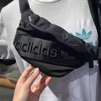 Adidas 刺繡 腰包 小包 bag