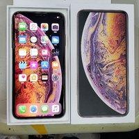 iphone xs max 256gb 90%new 100%work original gold 2sim 行貨金色