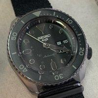 SEIKO 5 SRPD79K1 real black 黑色natp 帶全新行貨 自動表