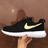 全新Nike Roshe run ID 黑金色 土豪金 型 跑步鞋 running shoes 鞋 training 情侶 快閃 秒殺 特價 超低價 優惠