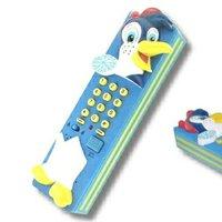 趣緻企鵝工藝家居電話 Penguin Style Telephone