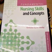 Fundamental nursing skill and concept (nursing書)