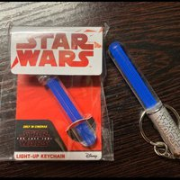 Star Wars 激光劍匙扣