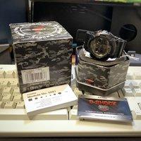 Casio G-SHOCK GA-100CF-1A黑色