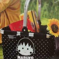 別注版 CHOCOOLATE x 小丸子MARUKO 摺疊野餐籃 户外 郊外 收納