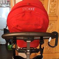 Stokke Xplory V3 with red style kit