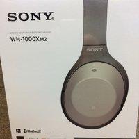 Sony WH-1000XM2藍芽無線耳筒 銀色