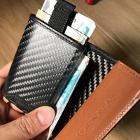 The world's first Carbon Speed Wallet(TheFrenchie.Co)
