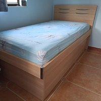 3呎 油壓床 單人床