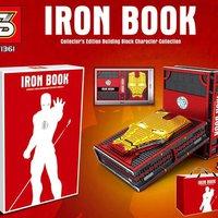 S牌推出的鋼鐵俠積木書 SY1361 Iron Book