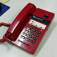 時運紅…全新免提擴音電話機,15組記憶,4組直撥。大聲耐用,Desktop 15Memory HandFree Telephone.