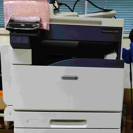 Fuji Xerox DocuCentre SC2022 A3/A4 彩色多功能打印機- 用了