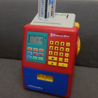 My Personal Bank Toy Machine