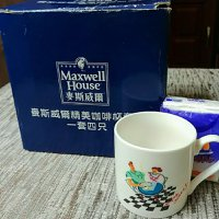 麥斯威爾咖啡杯8隻