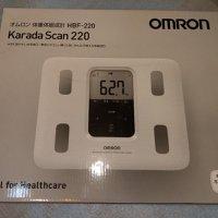 全新 OMRON HBF-220 歐姆龍 脂肪磅 體脂磅 體脂稱 體脂秤 日本進口